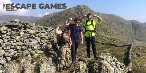 The Escape Games - Training Cover